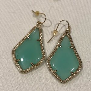 Kendra Scott Chalcedony Alex earrings